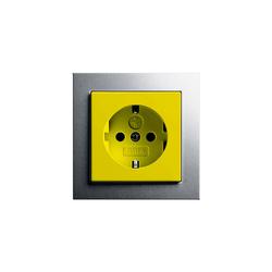 E2 | Steckdose mit Sicherheitsvorsorgung | Prese Schuko | Gira