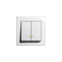 E2 | Series controller LED | Interruptores pulsadores | Gira