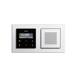 E2 | RDS flush-mounted radio | Radio systems | Gira