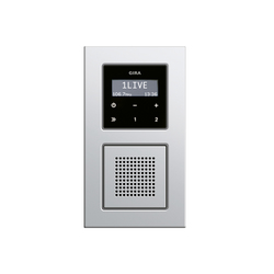 E22 | RDS flush-mounted radio | Radio systems | Gira