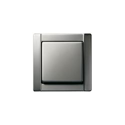 Edelstahl | Switch range | Interrupteurs standard | Gira