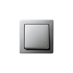 Edelstahl | Switch range | Interruptores pulsadores | Gira