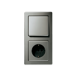 Edelstahl | Switch range | Push-button switches | Gira