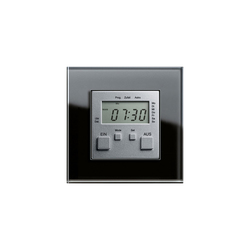 Esprit Glass | Elektronic time clock | Temporizzatori | Gira