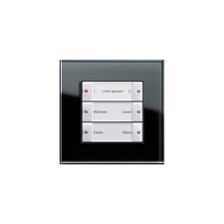Esprit Glass | Radio wall transmitter | Lighting controls | Gira