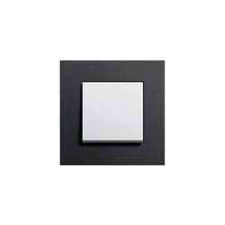 Esprit Aluminium Schwarz | Switch range | Push-button switches | Gira