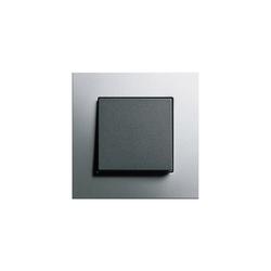 Esprit Aluminium | Switch range | Interruptores pulsadores | Gira