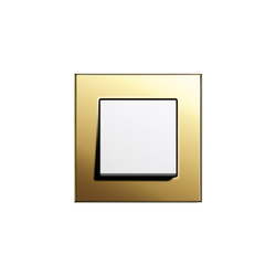 Esprit Brass | Switch range | Push-button switches | Gira