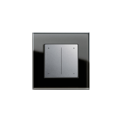 Esprit Glass | Series dimmer | Reguladores a tecla | Gira