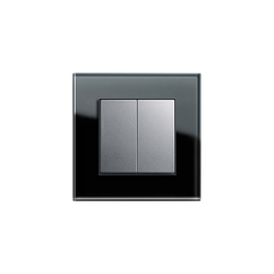Esprit Glass | Series control switch | Push-button switches | Gira