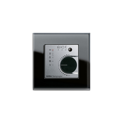 Esprit Glass | Continuous regulator | Heating / Air-conditioning controls | Gira