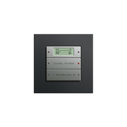 Esprit Aluminium Schwarz | Touch sensor | Lighting controls | Gira