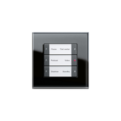 Esprit Glass | Multimedia touch sensor | Sound / Multimedia controls | Gira