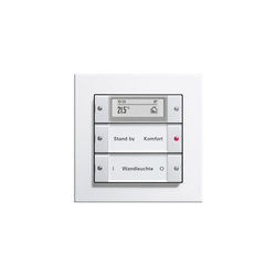 Esprit Aluminium | Touch sensor | Room controls | Gira