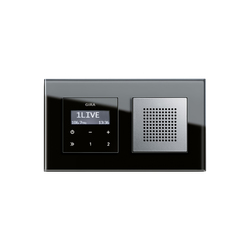 Esprit Glass | Flush-mounted radio | Radio systems | Gira