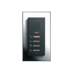 Esprit Chrome | Home station | Intercoms (interior) | Gira