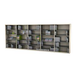 BK 1 | Library shelving systems | IDM Coupechoux