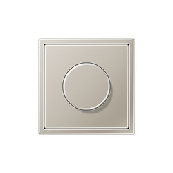 LS 990 stainless steel dimmer | Reguladores giratorios | JUNG