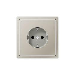 LS 990 stainless steel socket | Schuko sockets | JUNG