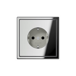 LS 990 chrome socket | Schuko sockets | JUNG