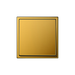 LS 990 gold 24 carat switch | Two-way switches | JUNG