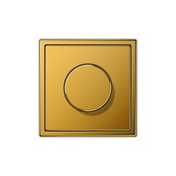LS 990 gold 24 carat dimmer | Rotary dimmers | JUNG