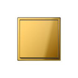 LS 990 gold coloured switch | Interruptores basculantes | JUNG