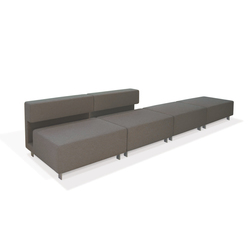 2cube Sofa | Modular seating elements | PIURIC