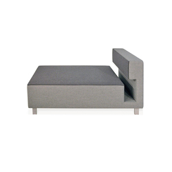 2cube Armchair Chaise Longue | Modular seating elements | PIURIC
