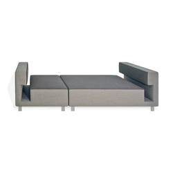 2cube Daybed | Modular seating elements | PIURIC