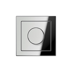 LS-design chrome dimmer | Rotary dimmers | JUNG