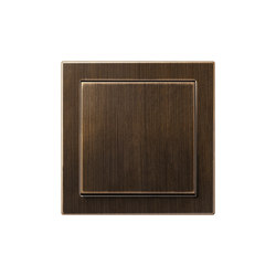 LS-design brass antique switch | Interruttore a bilanciere | JUNG