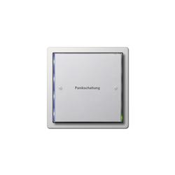 F100 | Panic control switch | Pulsante emergenza | Gira