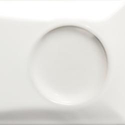 Goccia | Double tune in white glossy | Ceramic tiles | Lea Ceramiche