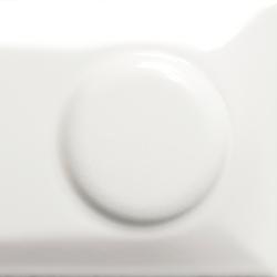 Goccia | Single tune out white glossy | Ceramic tiles | Lea Ceramiche