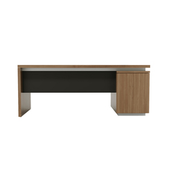 Brand desk modesty leather | Scrivanie individuali | M2L