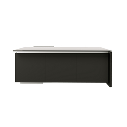 Brand desk modesty leather | Escritorios individuales | M2L