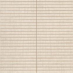 Makò | Decoro corset papiro bianco | Floor tiles | Lea Ceramiche