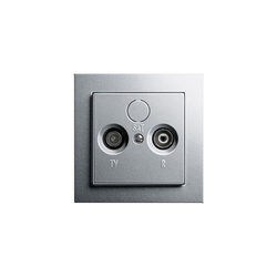 Antenna socket outlet | Comunicación de datos | Gira