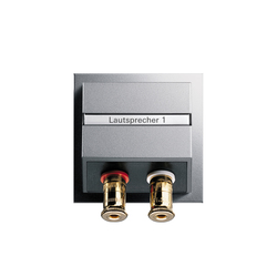 High-End loudspeaker connection box | Multimedia ports | Gira