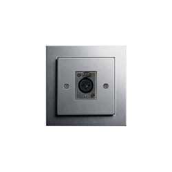 Loudspeaker socket outlet | Multimedia ports | Gira
