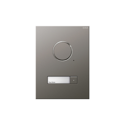 Door station stainless steel | Intercomunicación exterior | Gira