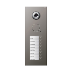 Door station stainless steel | 8-gang | Intercoms (exterior) | Gira