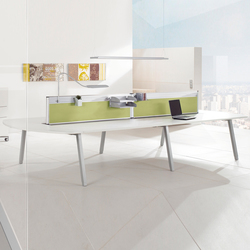 TriASS Furniture range | Systèmes de tables de bureau | Assmann Büromöbel