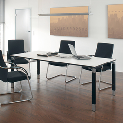 Antaro Desking programme | Contract tables | Assmann Büromöbel