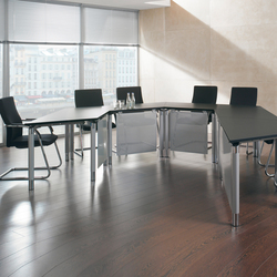 Antaro Desking programme | Conference table systems | Assmann Büromöbel