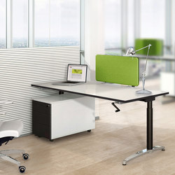 desk systems high quality designer desk systems architonic. Black Bedroom Furniture Sets. Home Design Ideas