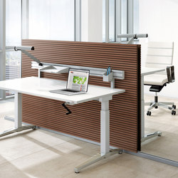 Canvaro desking programme | Contract tables | Assmann Büromöbel