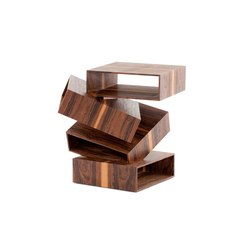 Balancing Boxes Wood | Side tables | Porro