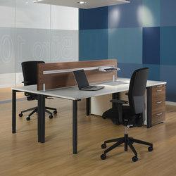 Rondana Schreibtischsystem | Einzeltische | Assmann Büromöbel
